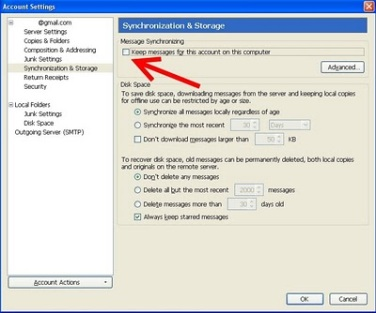 Thunderbird download all messages from server | Tiffany blog